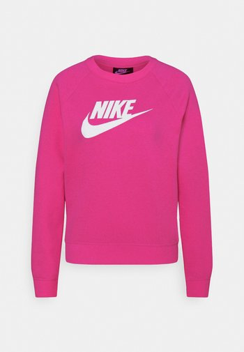 CREW - Sweatshirt - fireberry/white