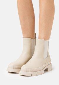 RAID - TURNER - Platform ankle boots - offwhite - 0