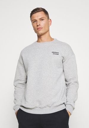 Sweatshirt - mottled light grey