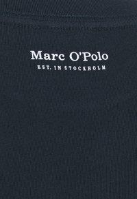 Marc O'Polo - SHORT SLEEVE ROUND NECK - Camiseta básica - dark night - 2