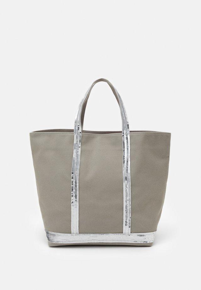 CABAS MOYEN - Shopping Bag - silver