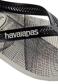 Havaianas - AERO GRAPHIC - Pool shoes - grey/black - 4