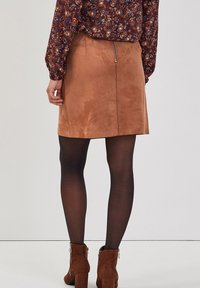 Cache Cache - ASYMMETRISCHER  - A-line skirt - marron clair - 2