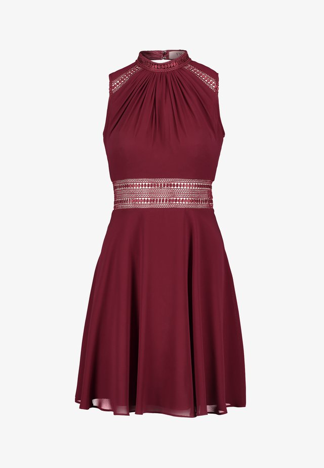 Cocktail dress / Party dress - carmine red
