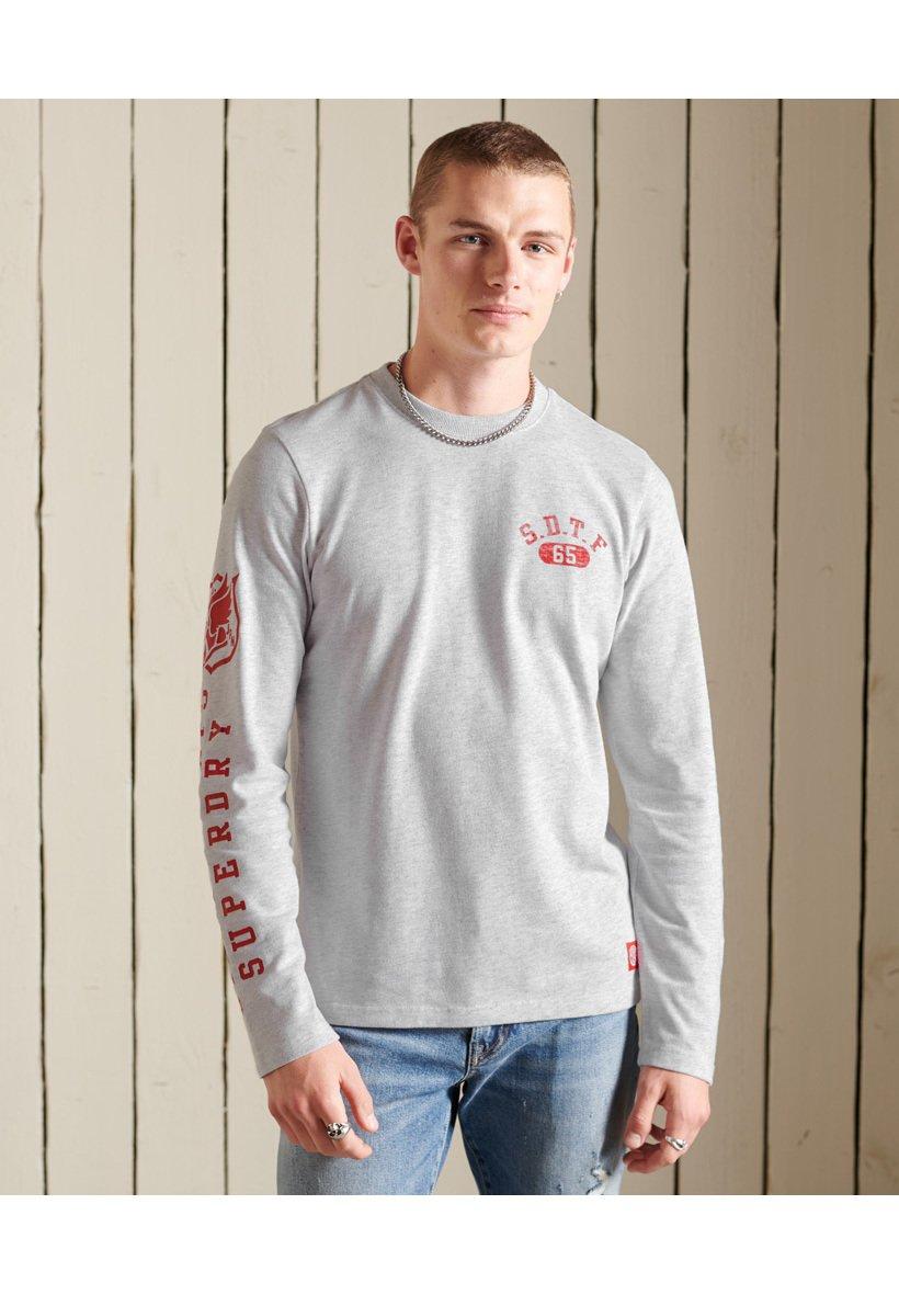 Men TRACK & FIELD LONG SLEEVE TOP - Long sleeved top
