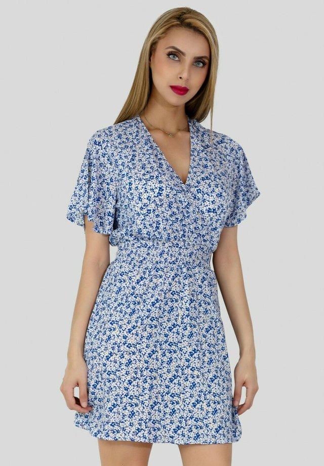 Robe d'été - bleu