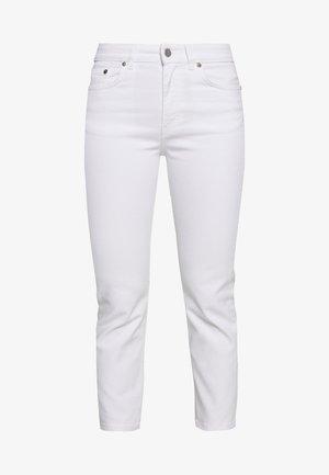 STELLA CROPPED - Skinny džíny - white
