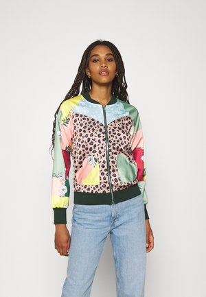 HEART POCKET BOMBER - Bomber Jacket - multi