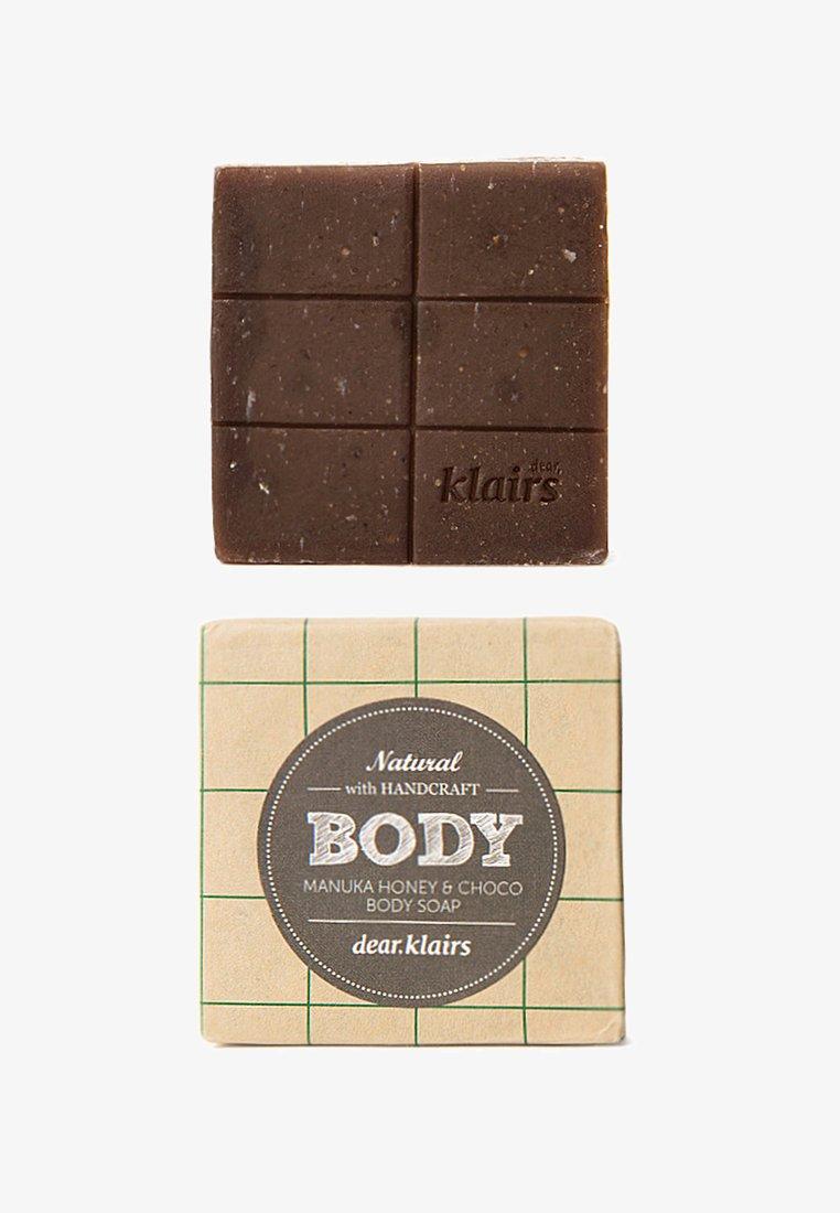 klairs - BODY SOAP - Soap bar - MANUKA HONEY & CHOCO