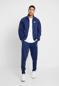 Nike Sportswear - SUIT - Tracksuit - midnight navy/white - 1