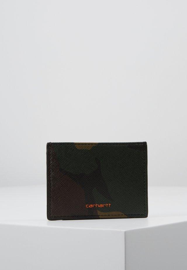 COATED CARD HOLDER - Wallet - olive