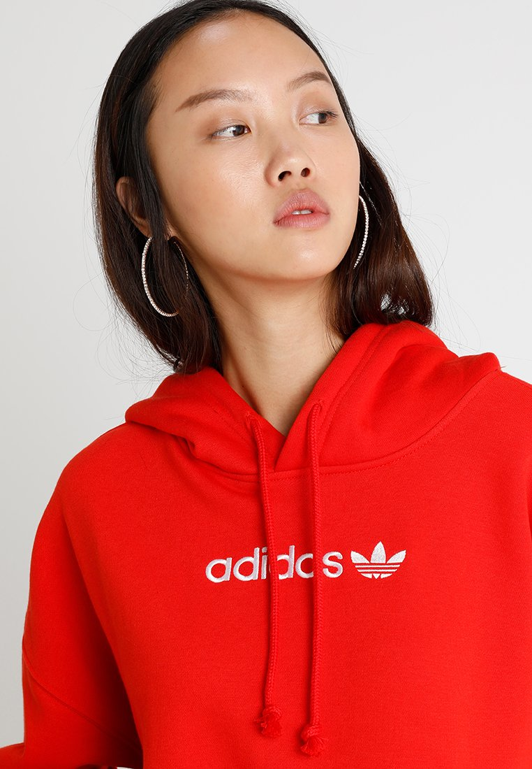 COEEZE HOODIE Sweat à capuche active red