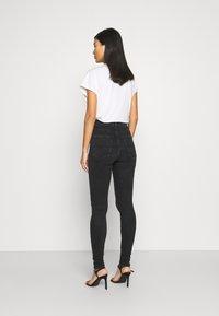 Replay - LEYLA HYPERFLEX RE-USED - Jeans Skinny Fit - dark grey - 2