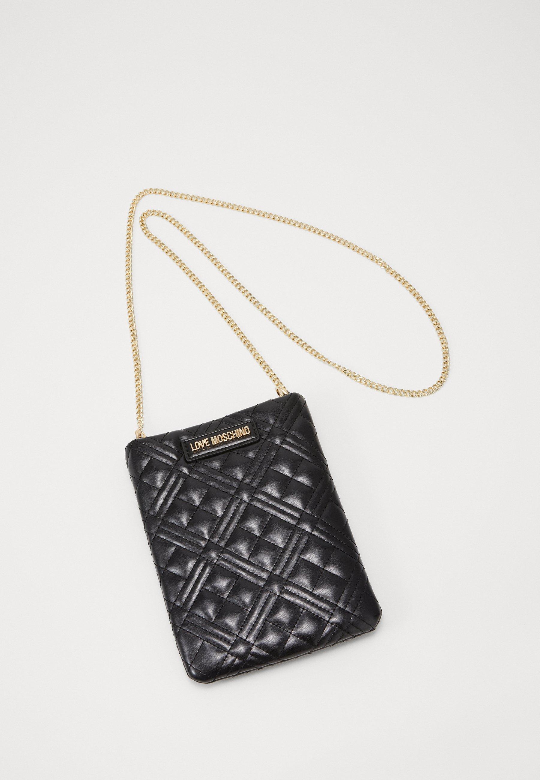 Cheap And Nice New And Fashion Accessories Love Moschino BORSA Across body bag black mR2GQgOjs txQc7N7R0