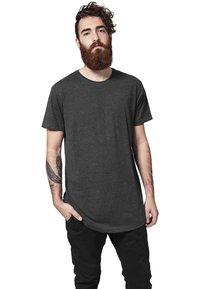 Urban Classics - SHAPED LONG TEE DO NOT USE - Basic T-shirt - charcoal - 0