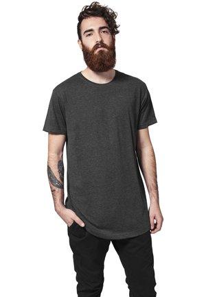 SHAPED LONG TEE DO NOT USE - T-shirt - bas - charcoal