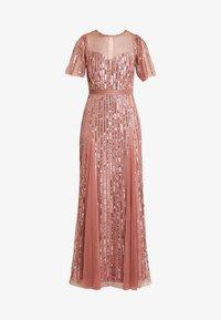 Lace & Beads - MEGHAN MAXI - Společenské šaty - dusty pink - 5