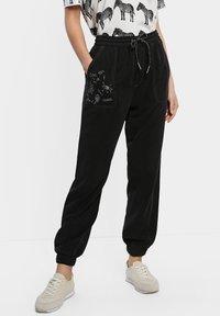 Desigual - SONJA - Pantalones deportivos - blue - 0