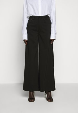 TUXEDO TROUSER - Trousers - black