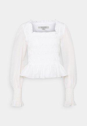 LIVI  - Blusa - chalk white