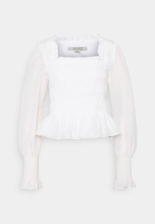 LIVI  - Bluser - chalk white