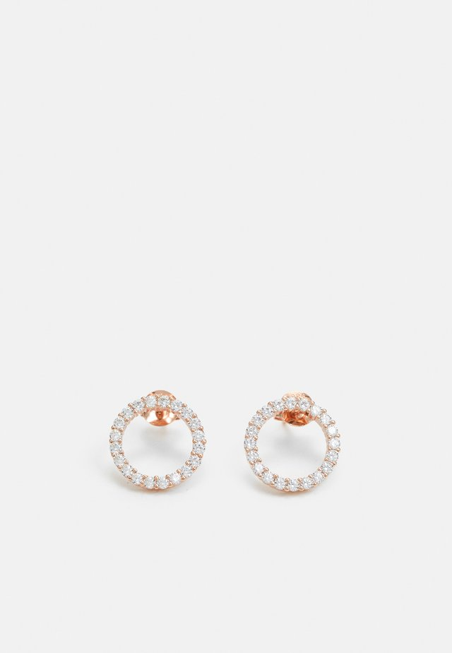 BIELLA UNO EARRINGS - Boucles d'oreilles - rosegold-coloured
