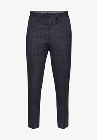 Isaac Dewhirst - CHECK TROUSERS - Spodnie materiałowe - navy - 4