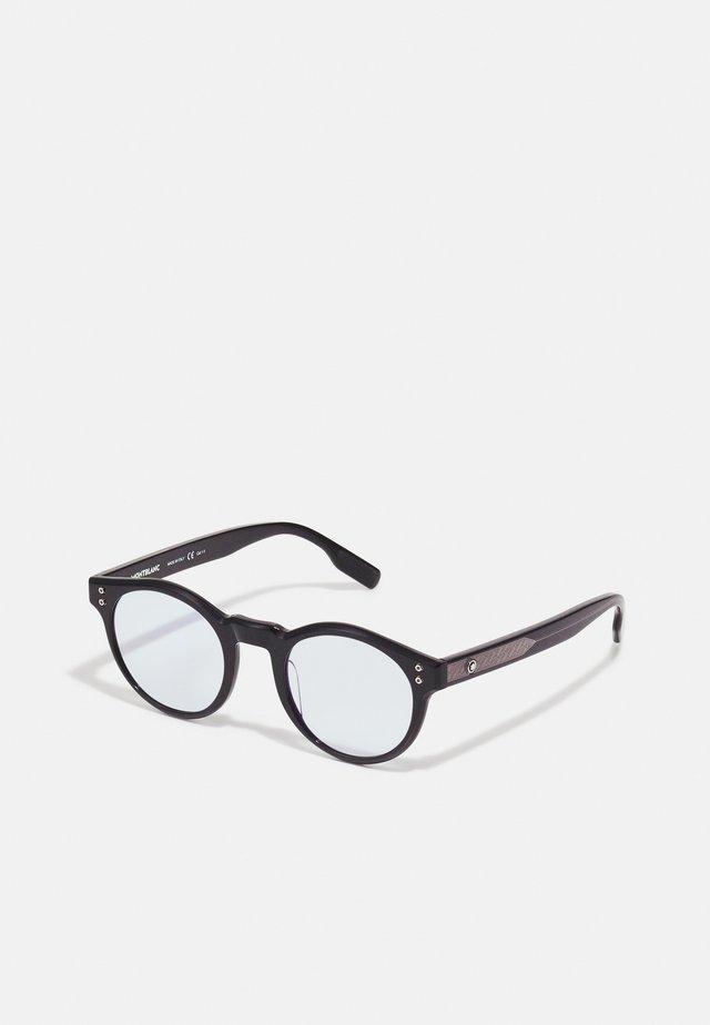 BLUE & BEYOND - UNISEX  BLUE LIGHT & PHOTOCHROMIC SUNGLASSES - Sunglasses - black/light blue