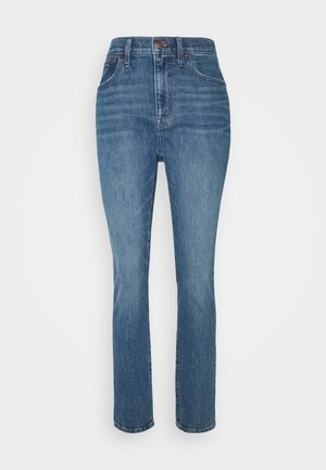 HIGH RISE BOY - Slim fit jeans - moorland