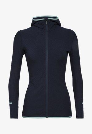 Zip-up sweatshirt - navy/hydro