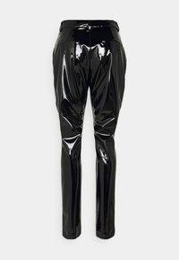 Victoria Beckham - HIGH WAIST SLIM TROUSER - Trousers - black - 1