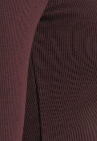 Monki - ALBA  - Long sleeved top - dark purple