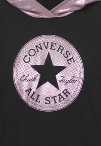 Converse - HOODED BOYFRIEND - Felpa - black - 2