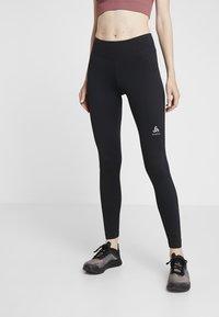 ODLO - SMOOTHSOFT - Leggings - black - 0