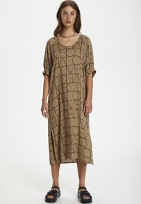 Soaked in Luxury - SLMONTOYA  - Day dress - love print ermine - 1