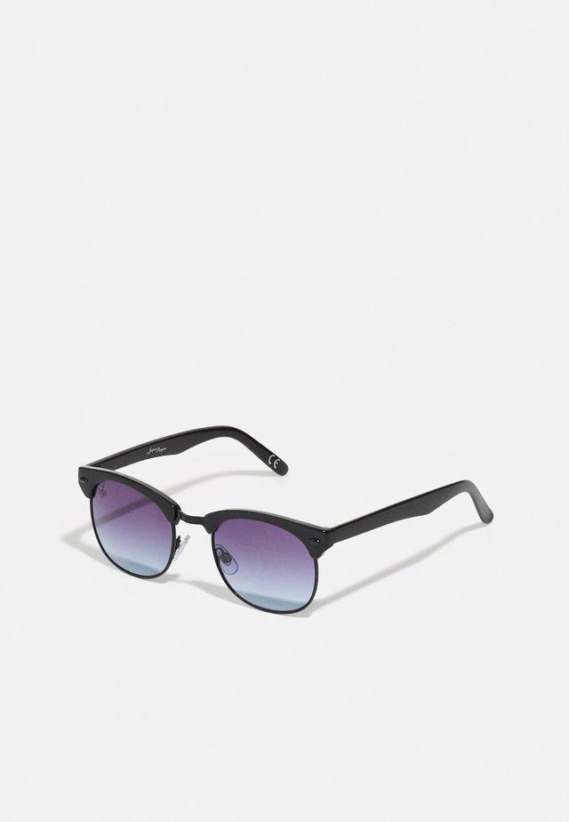UNISEX - Sunglasses - black/blue
