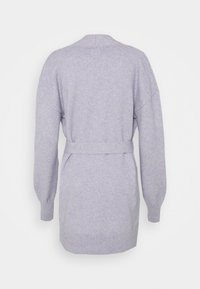 Gap Tall - BELTED OPEN SUPER PLUSH - Cardigan - frosted lilac - 6