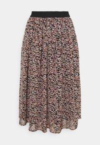 NINEA - Áčková sukně - rose dawn combi