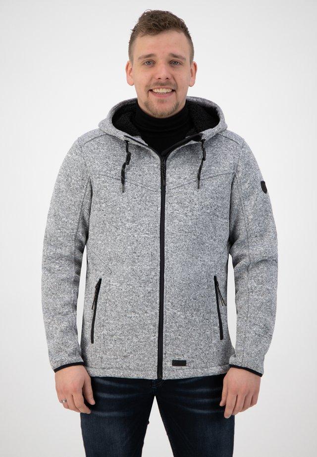 LEENDERT - Vest - grey
