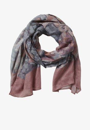 Sjaal - rosé/grey