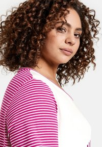 Samoon - T-shirt print - electric magenta gemustert - 1