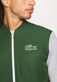 Lacoste Sport - JACKET - Träningsjacka - green/silver - 5