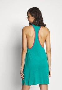 Tommy Hilfiger - POP TANK DRESS SHORT - Nightie - calypso green - 2