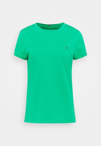 NEW CREW NECK TEE - T-shirts - primary green