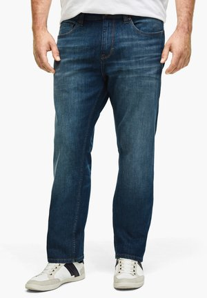 Relaxed fit jeans - medium blue