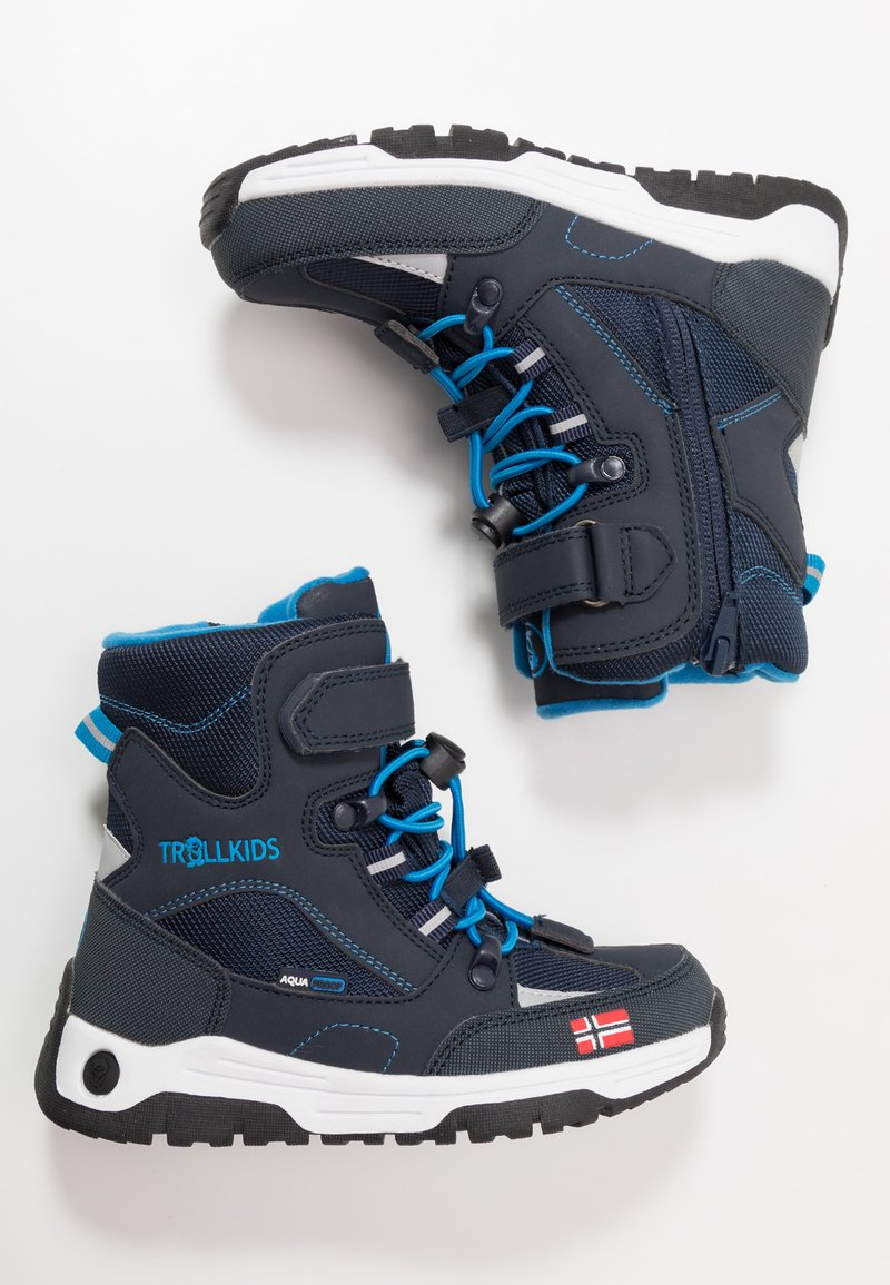 TrollKids - KIDS LOFOTEN WINTER BOOTS XT - Bottes de neige - navy/medium blue