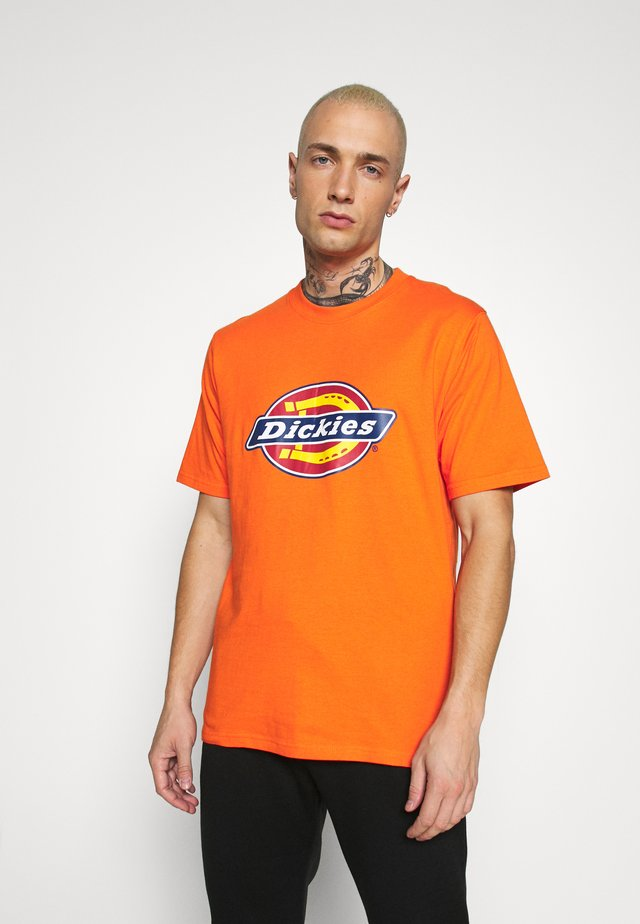 HORSESHOE TEE - T-shirt imprimé - bright orange