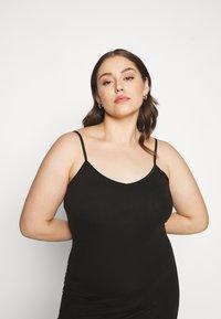 Zizzi - STRAP LONG - Pouzdrové šaty - black - 4