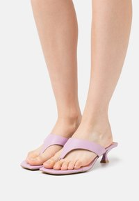 Who What Wear - SYDNEY - T-bar sandals - mauve - 0