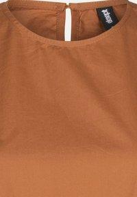 Eksept by Shoeby - HAZEL DRESS - Day dress - brown - 5